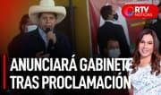 Castillo:Anuncios sobre el gabinete se darán tras la proclamación - RTV Noticias