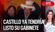 Castillo ya tendría listo su nuevo gabinete - RTV Noticias