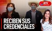JNE: Pedro Castillo y Dina Boluarte reciben sus credenciales - RTV Noticias