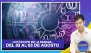 Horóscopo de la semana: Del 02 al 08 de agosto   Señales con Jhan Sandoval