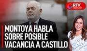 """Montoya sobre posible vacancia a Castillo: """"Es una opción al final de la lista"""" - RTV Noticias"""