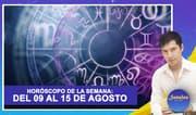 Horóscopo de la semana: Del 09 al 15 de agosto   Señales con Jhan Sandoval