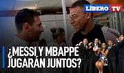 ¿Messi y Mbappé llegarán a jugar juntos en el PSG? - Líbero TV