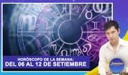 Horóscopo de la semana: Del 6 al 12 de setiembre   Señales con Jhan Sandoval