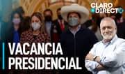 AAR: El principal propulsor de la vacancia de Pedro Castillo, es él