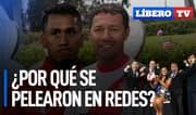 """Tapia vs. """"Chorri"""" Palacios: ¿por qué se pelearon en las redes? - Líbero TV"""