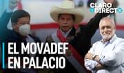 """AAR: """"El Movadef está instalado en Palacio de Gobierno"""""""