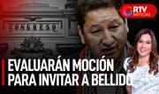 Congreso evaluará moción para invitar a premier Bellido - RTV Noticias