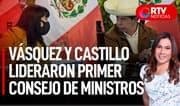 Nuevo Gabinete Ministerial: Castillo lideró la primera reunión de la PCM - RTV Noticias