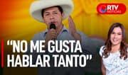 """Castillo: """"Ya hice el discurso para ser presidente, ahora quiero trabajar"""" - RTV Noticias"""