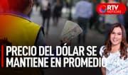 Precio del dólar se mantiene en promedio - RTV Noticias