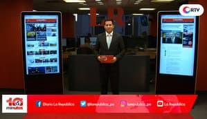 Luis Castañeda reconoce que OAS aportó a su campaña - 10 minutos Edición Matinal