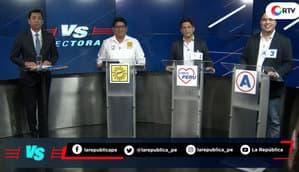 Elecciones 2020: Malcolm Durand vs. César Pérez vs. Juan Carlos Condori | Versus Electoral