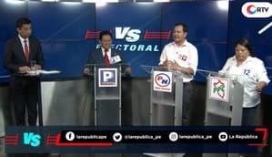 Elecciones 2020: Manuel del Águila vs. Orestes Sánchez vs. Karin García | Versus Electoral