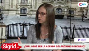 """Glave: """"Nuevos parlamentarios podrían acusar a los que se opusieron a la disolución"""""""