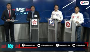 Elecciones 2020: José Torres vs. Harold Mora vs. Emilio Mayhua | Versus Electoral