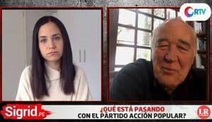 """García Belaunde: """"Acusarnos de golpistas es una infamia"""""""