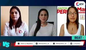 Elecciones 2021: Jessica Pereyra vs Marite Bustamante | Versus Electoral