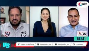 Versus Electoral: Gustavo Cesti (Somos Perú) vs. Manuel del Águila (Victoria Nacional)